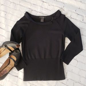 The Limited Wide Neck Sweater  M